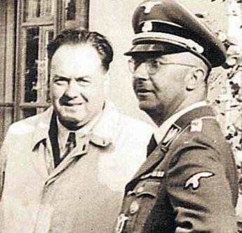 Felix Kersten et Heinrich Himmler