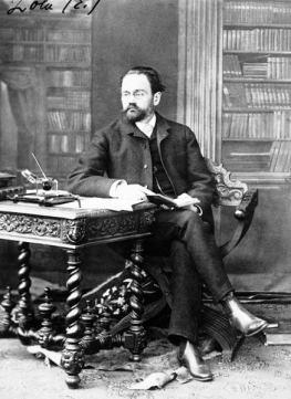 Portrait Emile Zola