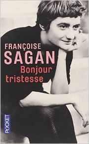 Bonjour tristesse de Françoise Sagan - pocket édition - couverture