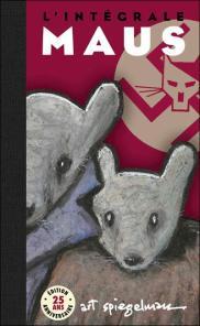 Couverture l'intégrale de Maus - Art Spiegelman - Flammarion