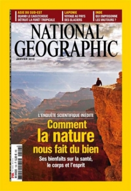 Couverture magazine National Geographic
