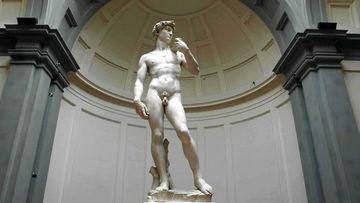 David de Michel Ange art sculpture Florence