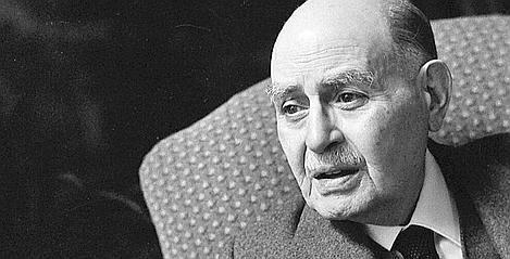portrait Albert Cohen noir et blanc