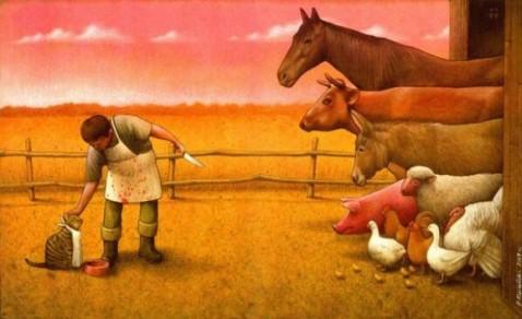 spécisme - antispécisme - végétarisme et végétalisme