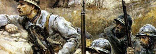 art peinture première guerre mondiale 1914 - 1918