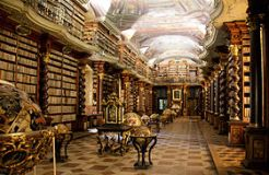 bibliothèque de Prague - collection de livres