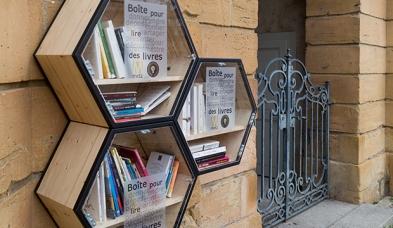 boîtes à livre - Metz